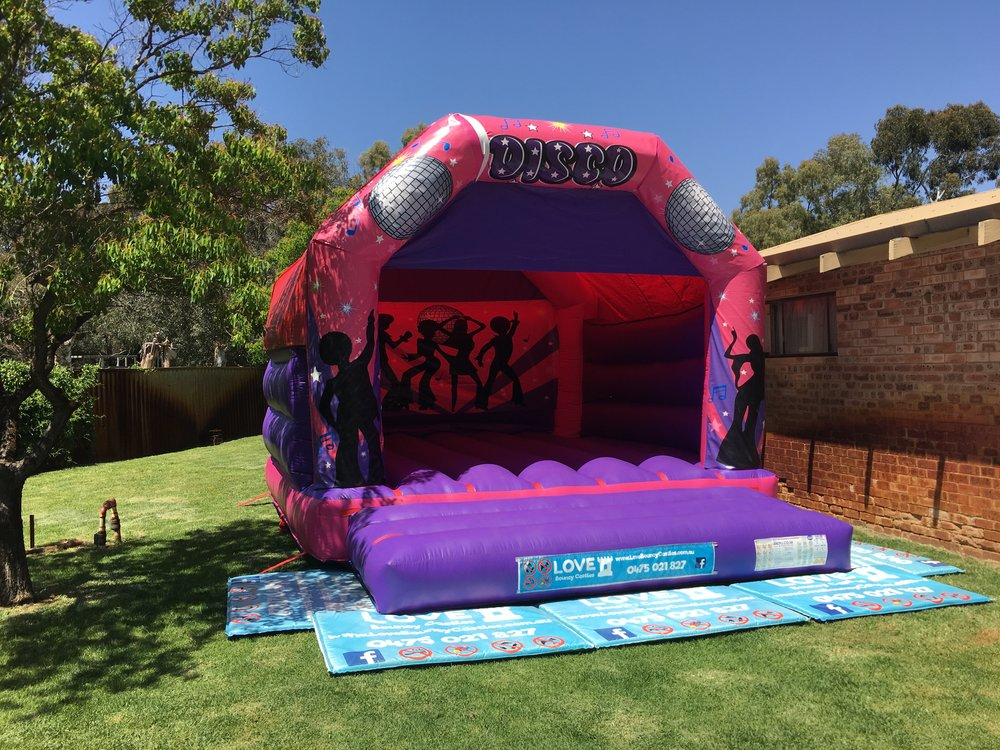 Adult Disco Bouncy Castle Perth