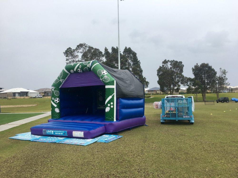 Sports Bouncy Castle Hire Baldivis