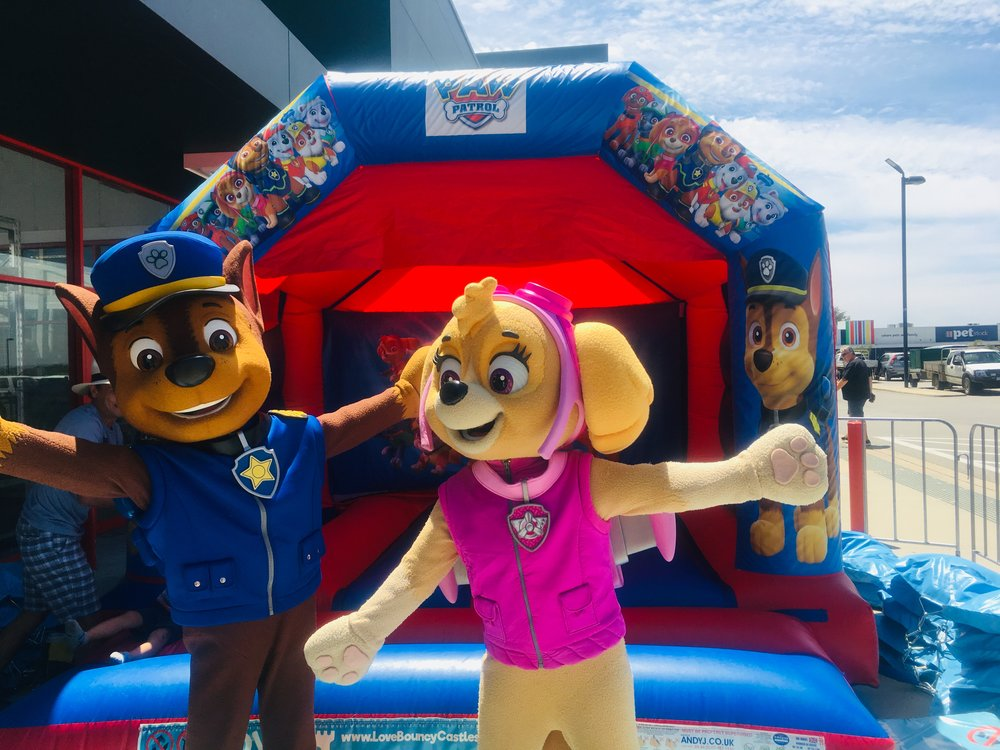 Paw Patrol Bouncy Castle Hire Perth
