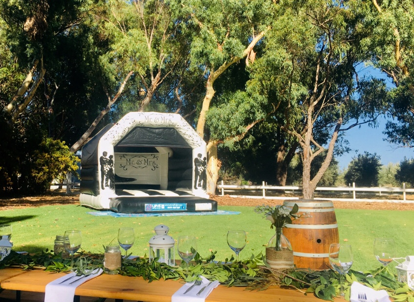 Wedding Castle Set Up In Perth