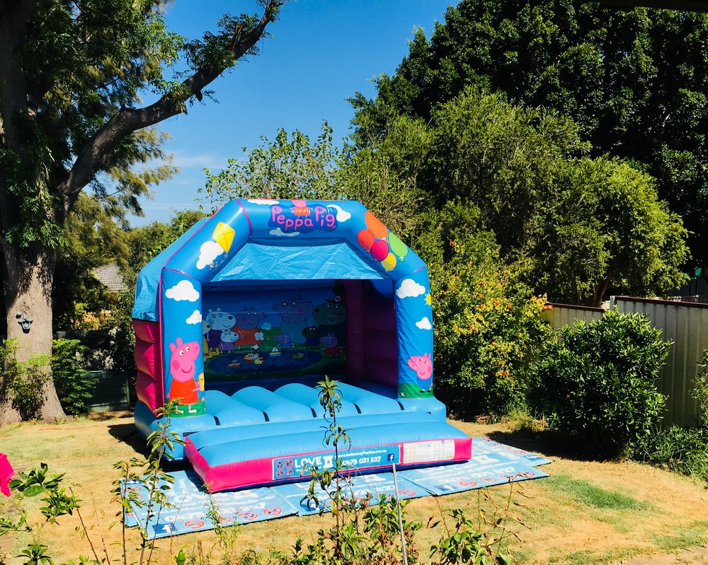 Peppa Pig Bouncy Castle Hire Perth