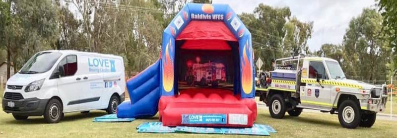 Love bouncy Castle Hire Perth. Safety first!