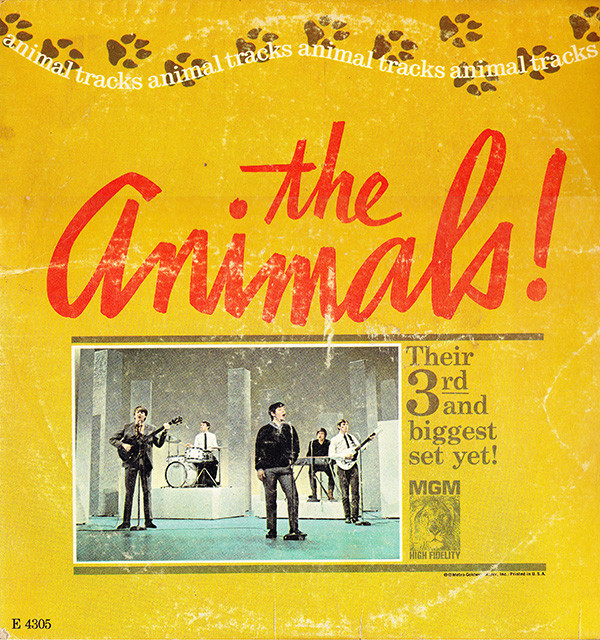 ANIMAL TRACKS, The Music of Eric Burdon and The Animals -