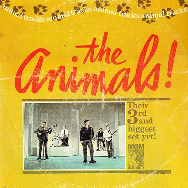 ANIMAL TRACKS, The Music of Eric Burdon and The Animals -
