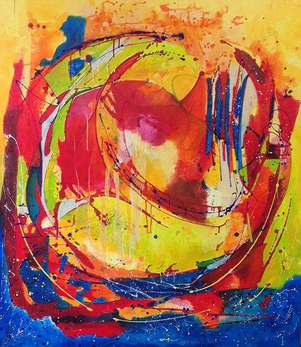 Change, Acrylic mixed media, 130 - 150