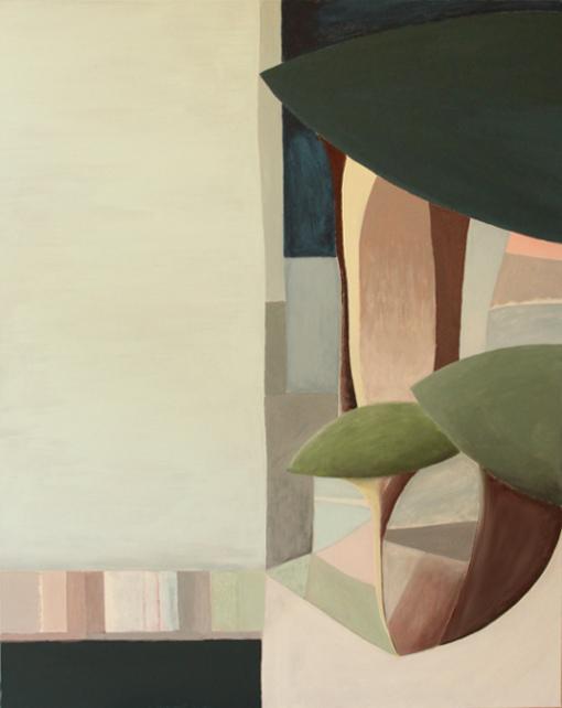 """Window""  (80x100 cm), acrylic over canvas"
