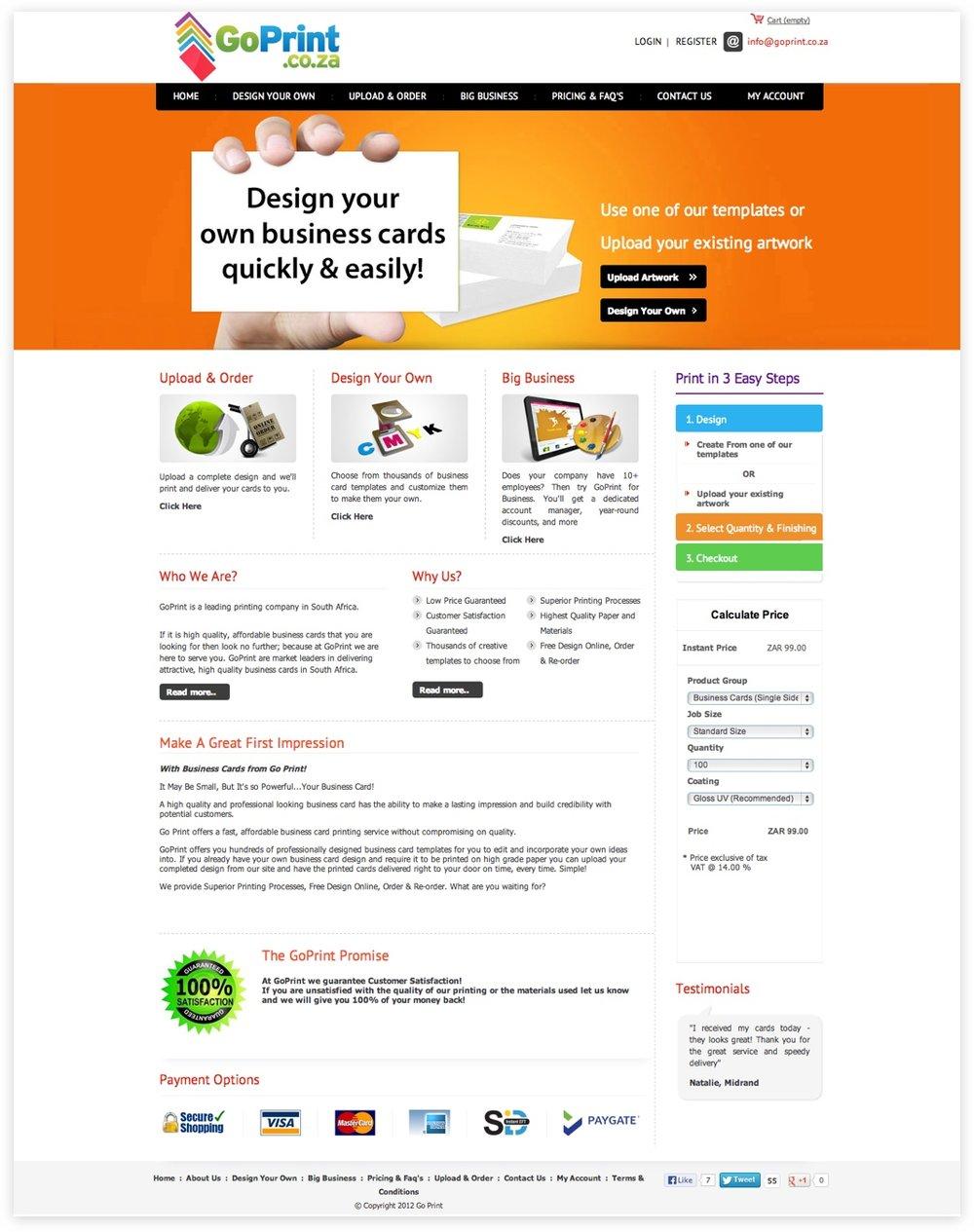 Old version:  website