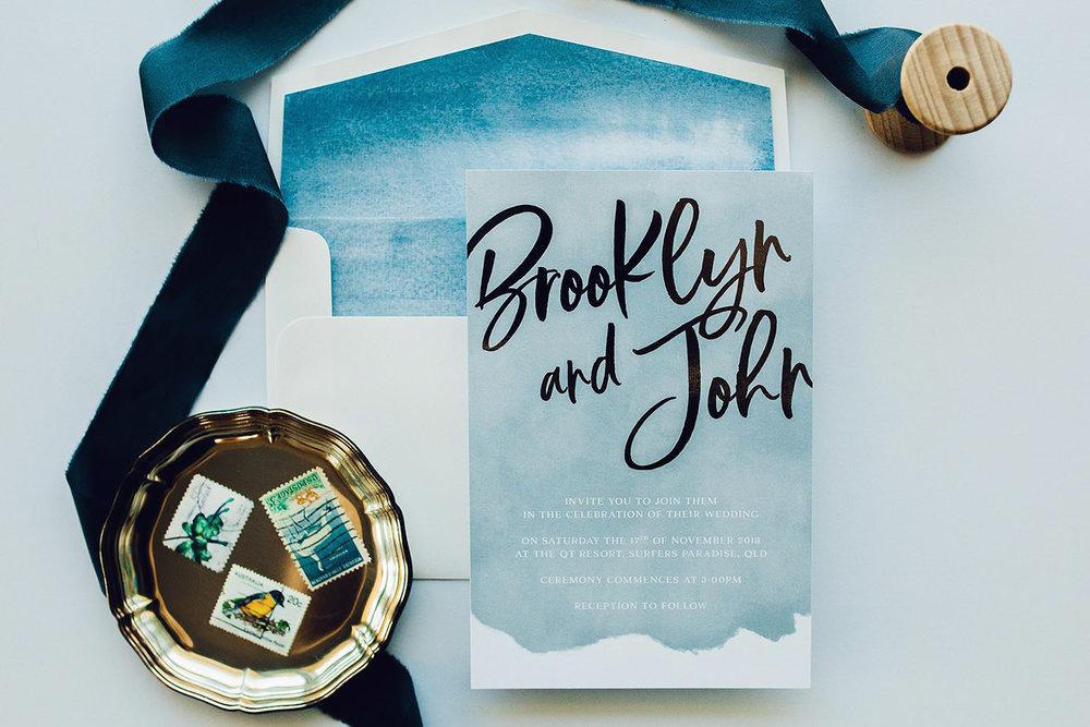 ficus and fig design silver foil watercolour wedding invitations.jpg