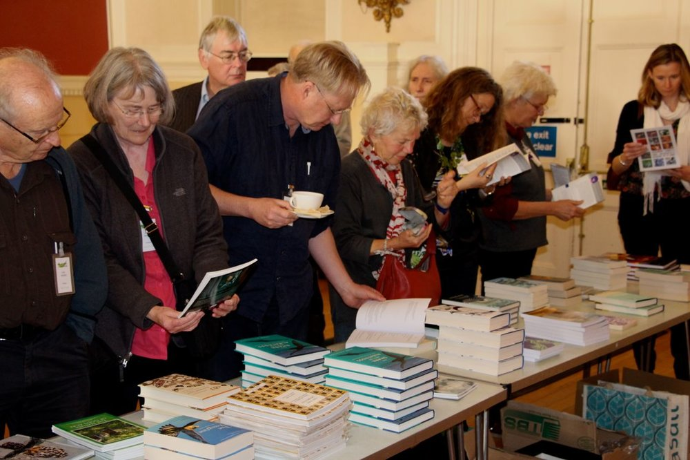The bookstall © Tim Birkhead