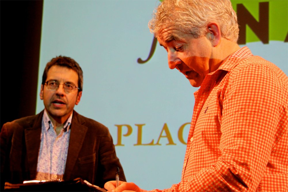 George Monbiot and Tony Juniper © Tim Birkhead