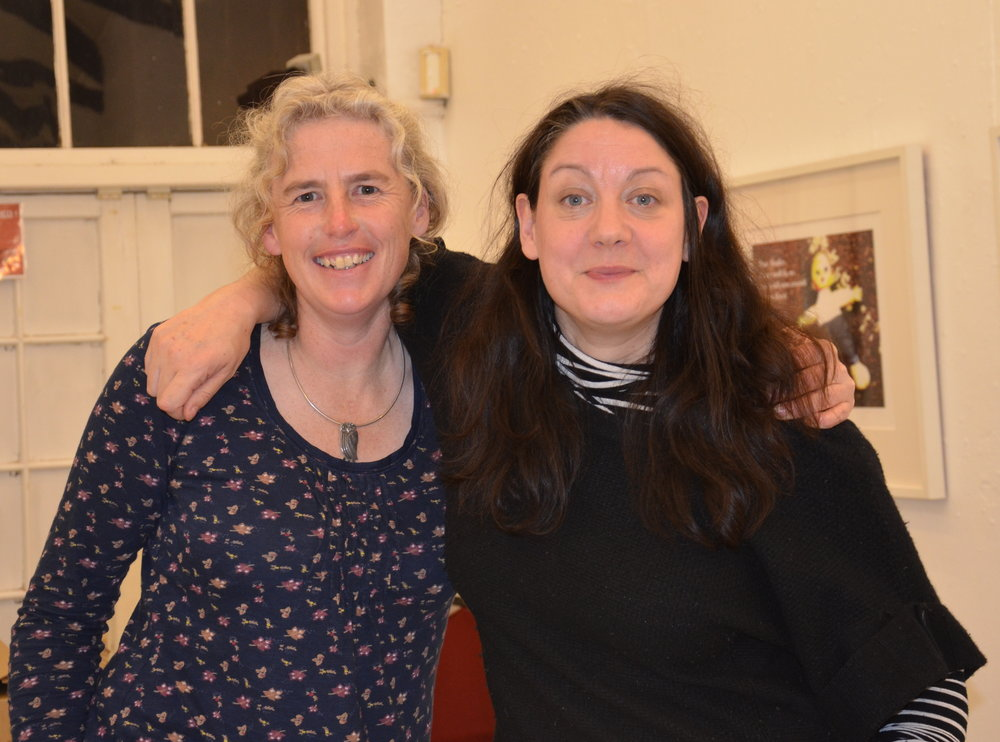 Harriet Mead and Helen Macdonald © Carry Akroyd