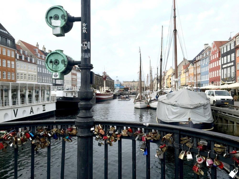 Nyhavn    photo by L.D. Van Cleave