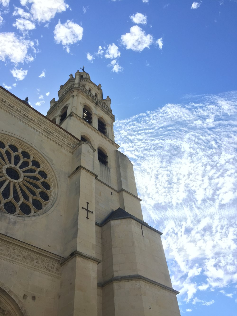 Village Cathedral    photo by L.D. Van Cleave