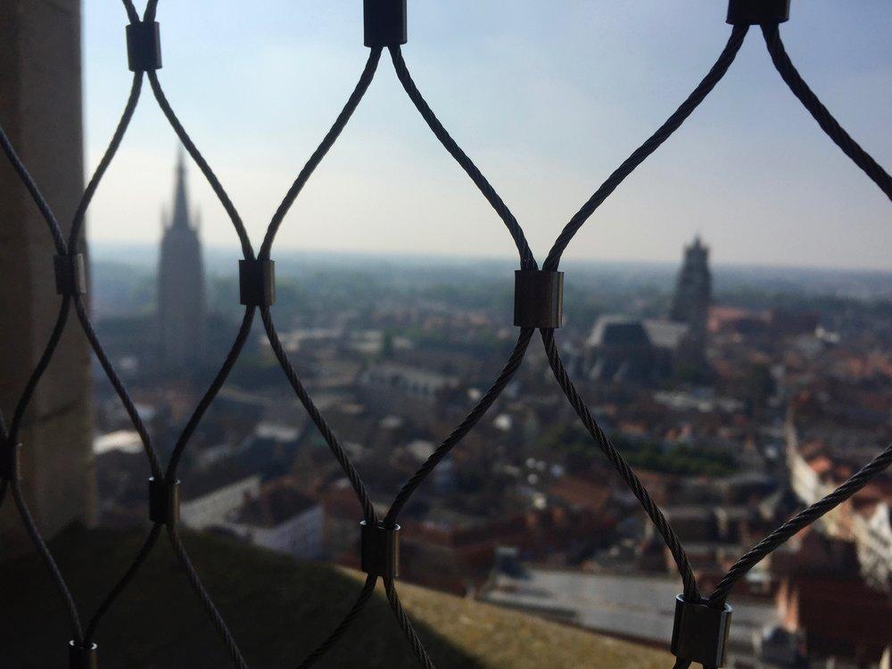 Top of the Belltower    photo by L.D. Van Cleave