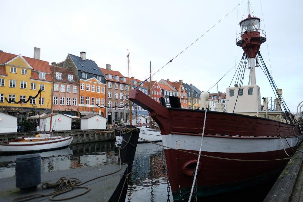 Nyhavn Boats & Colors    photo by L.D. Van Cleave