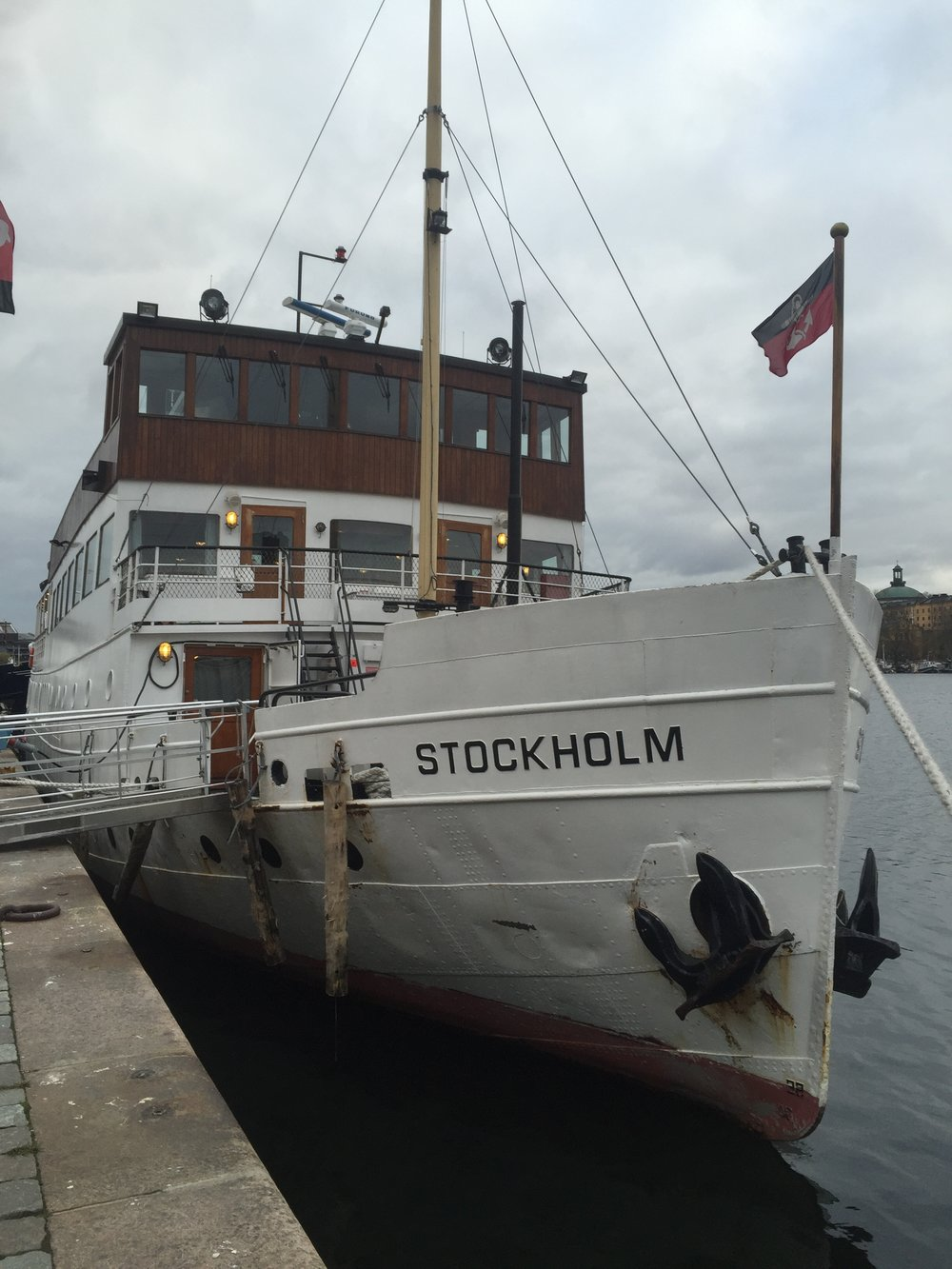 Stockholm Boats    photo by L.D. Van Cleave