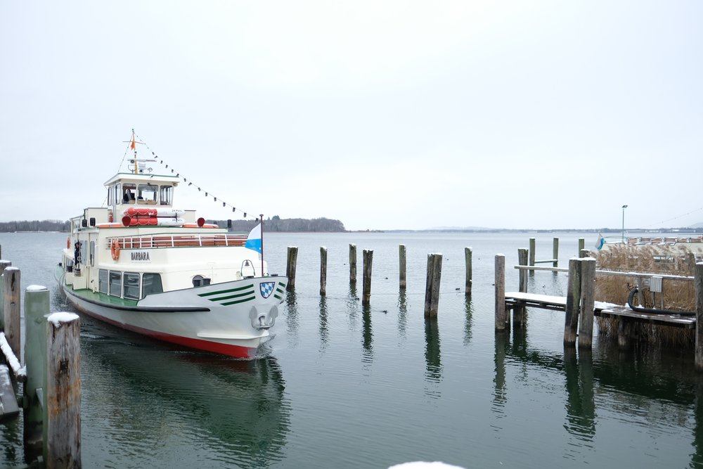 Ferry on the Chiemsee    photo by L.D. Van Cleave