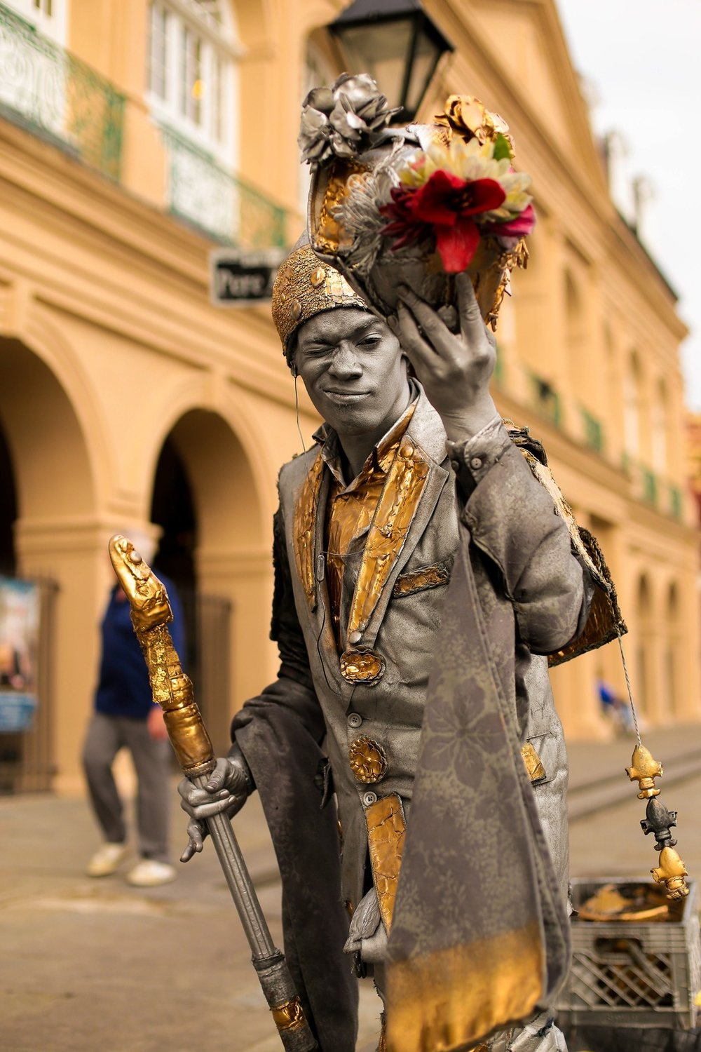 New Orleans Street Performer (Photo: Nathan Bingle)