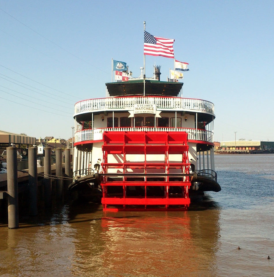 New Orleans Paddle Boat, the Steamer Natchez