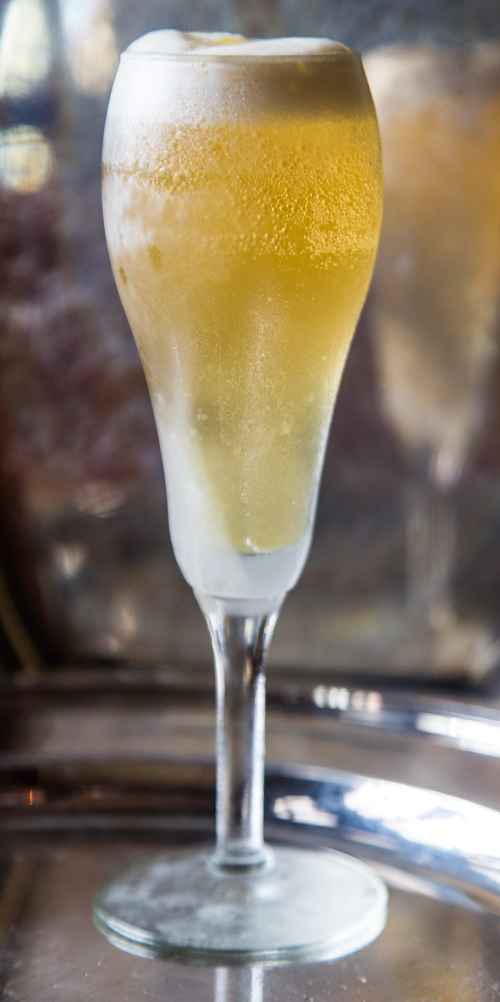 French75-2.jpgThe namesake cocktail of French 75 (photo credit: Arnaud's Restaurant)