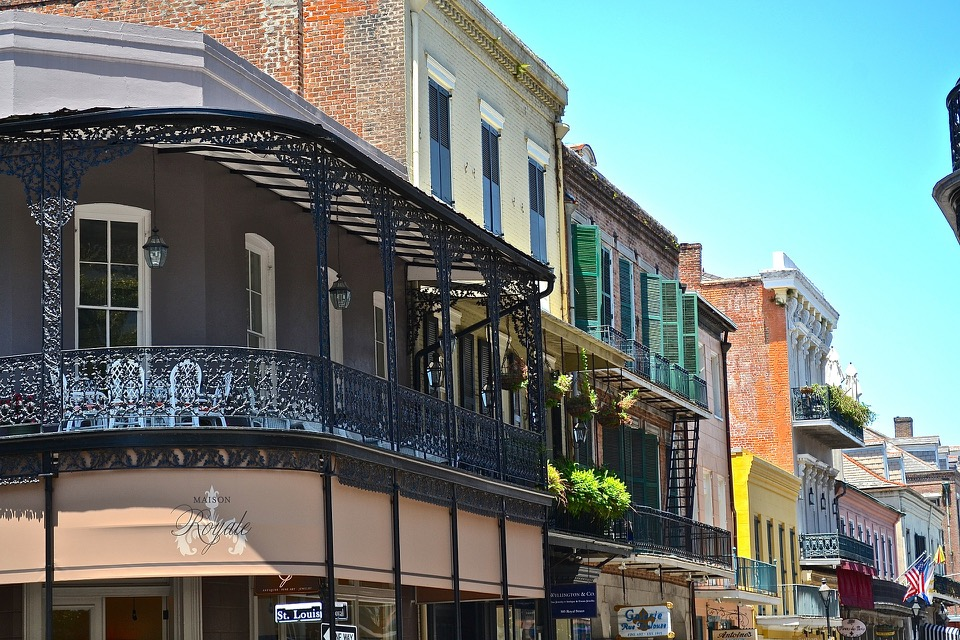 Historic architecture of the French Quarter
