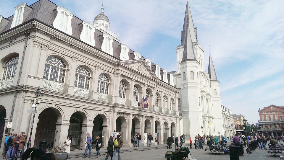 The Cabildo and St. Louis Cathedral