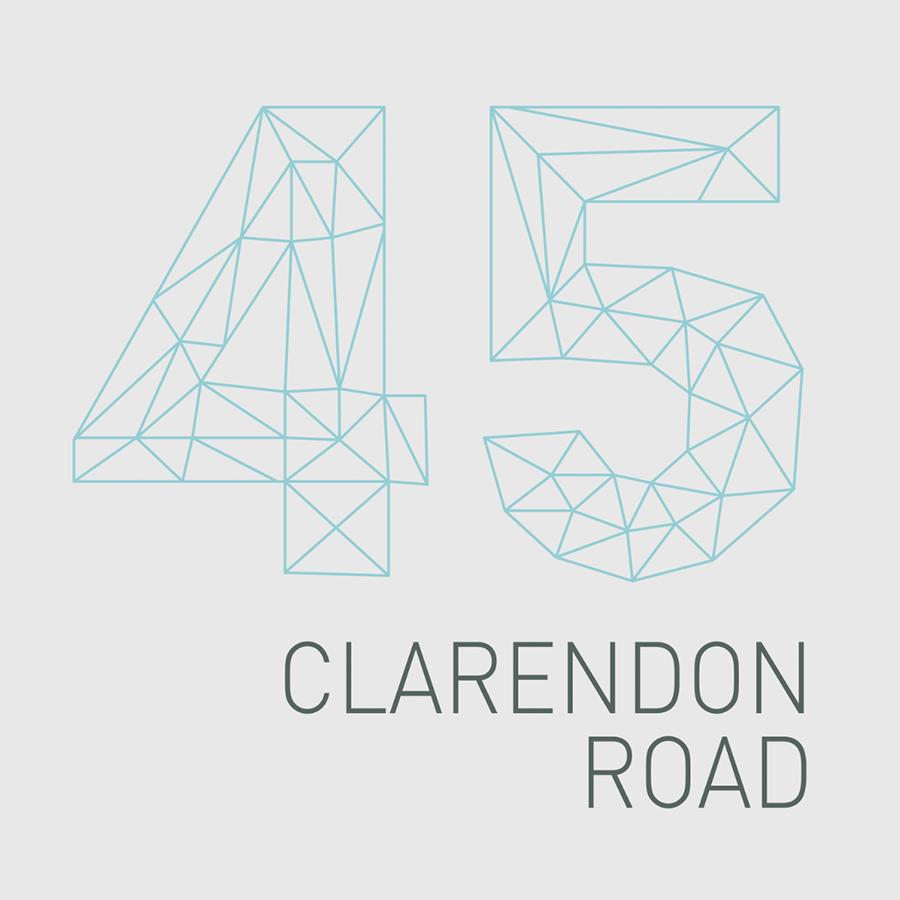 45 Clarendon Road Watford Branding Logo Design.jpg