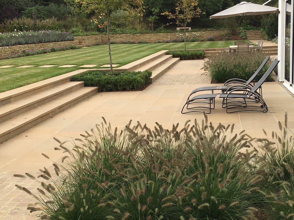 Domestic Garden Construction Over £250,000