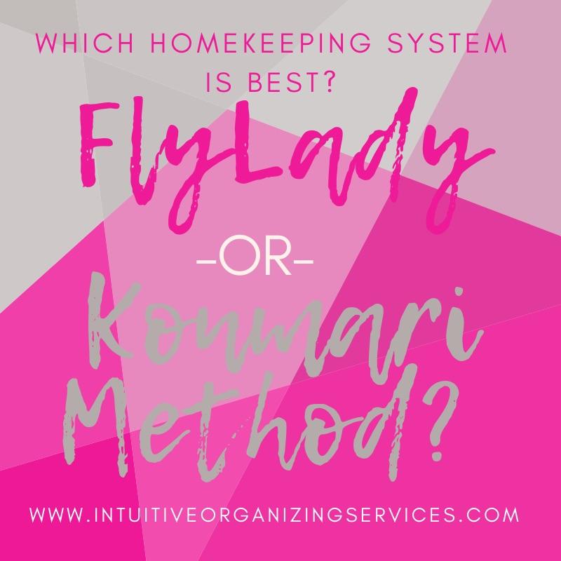 konmari baltimore organizing flylady home organizer