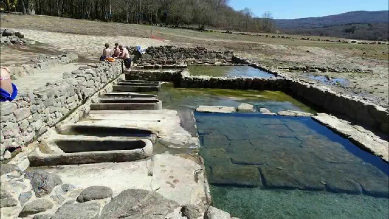 Hotsprings Geres National Park, Portugal