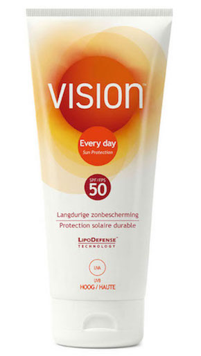 Vision SPF 50 - Packing list for travel