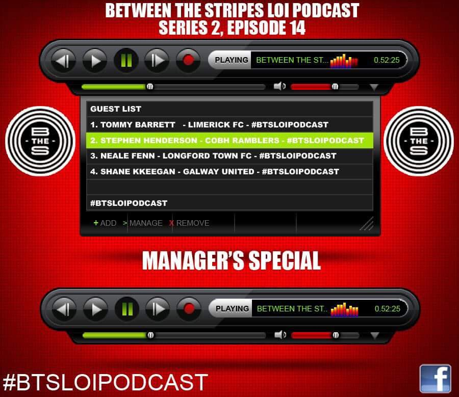 Series 2-Episode 14, Managers Special  — Between the Stripes