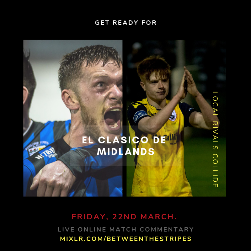 Poster design by  @BetweenStripes , image credit  TomBearyphotography.com  &  ltfc.ie