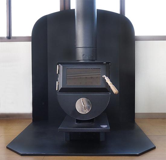 炉壁・炉台セット 平面置用 使用例
