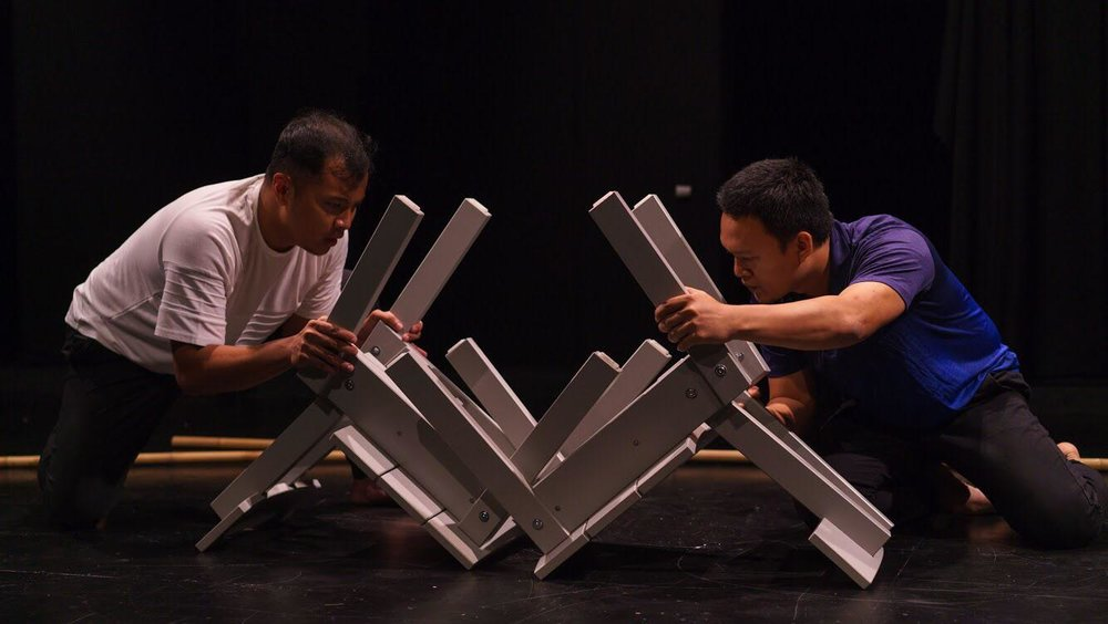 yesterday it rained salt  at M1 Singapore Fringe Festival 2019. Photo by Mark Benedict Cheong.