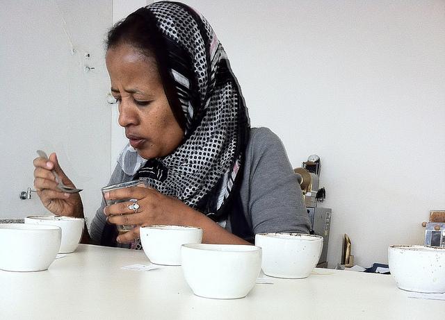 Former TechnoServe staff, Aansha Yassin