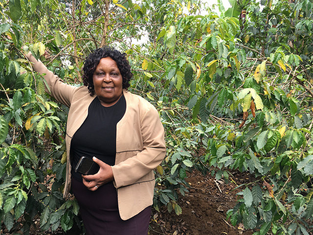 Mary Maina, Manyeki Estate
