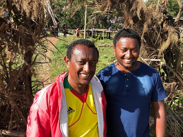 Zinabu and his brother, Zat Farm, Tula.
