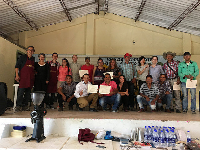 The top ten coffee producers, CCS Acevedo Cup, 2016