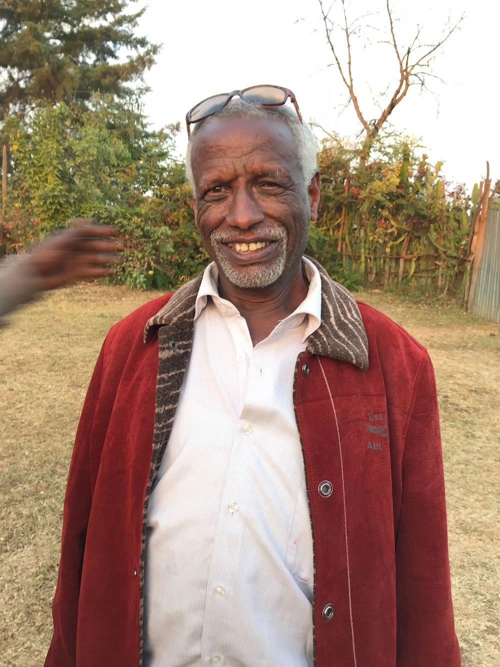 Tesfaye Girma - Manager of the Korate Washing Station, Sidam,Dilla Zone