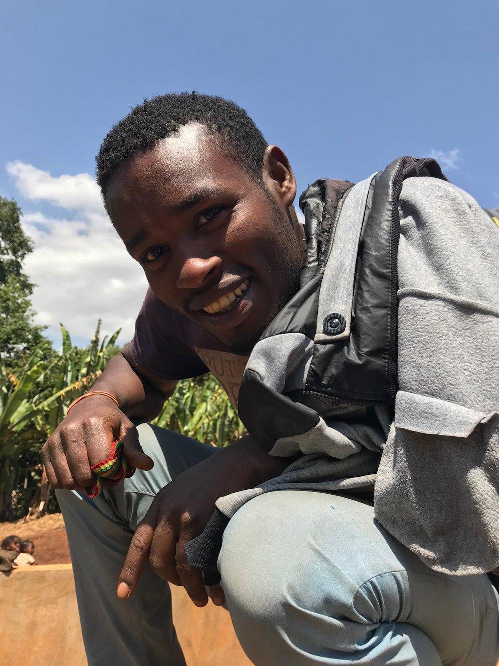 Karyu, coffee washer at the Hallo Fuafate Washing Station,Yirgacheffe,Gedeb Zone, Gedeo.