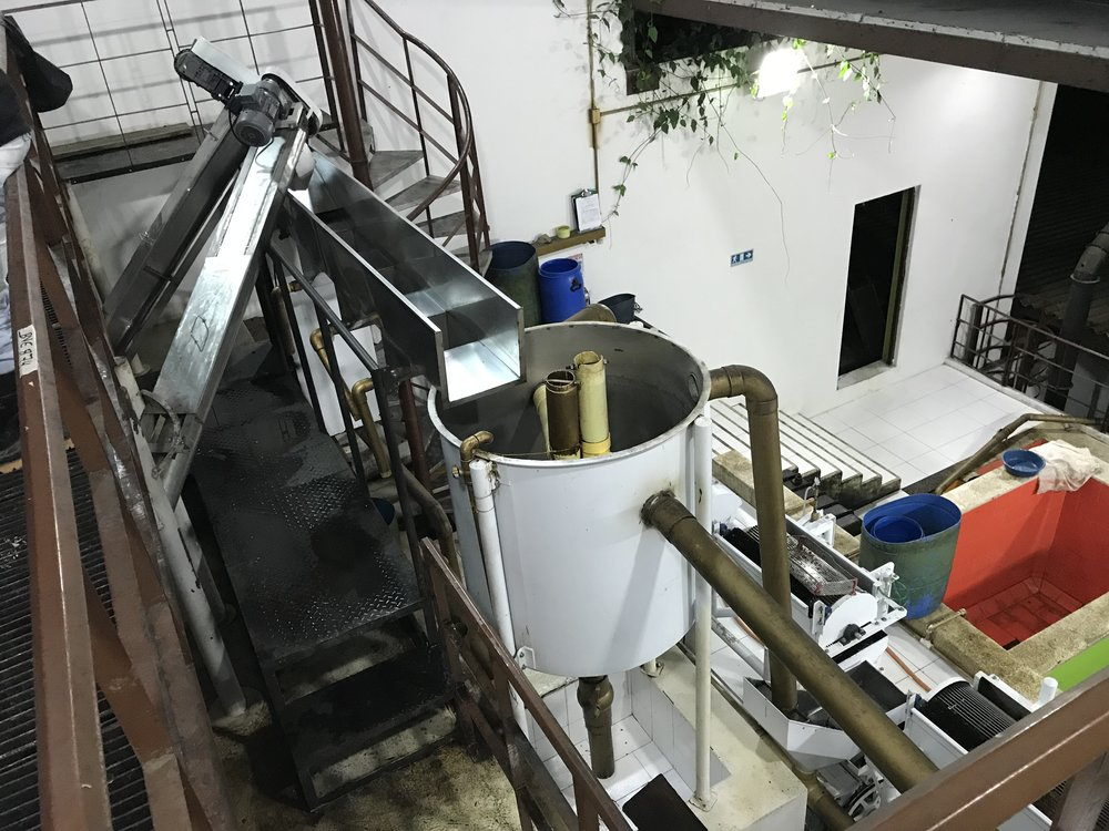 The LPET processing facility