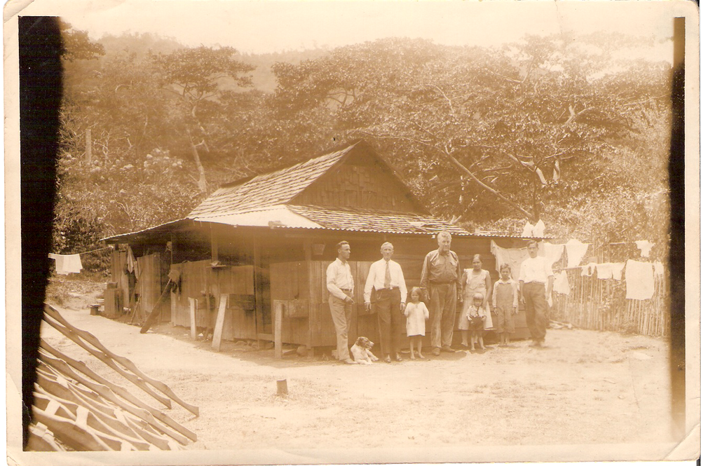 Historic photo of Finca Elida