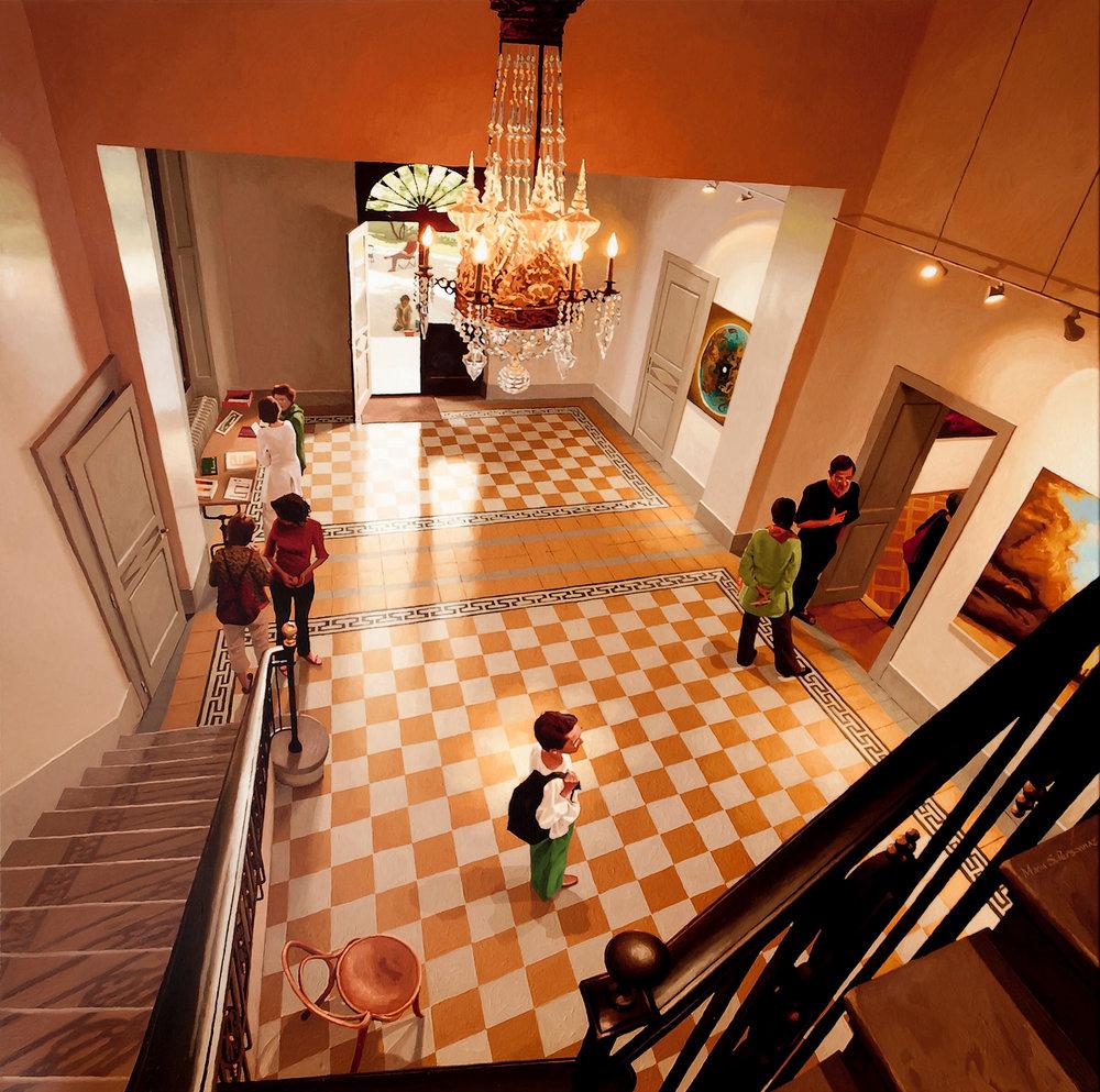 Exposition de peintures, Genève
