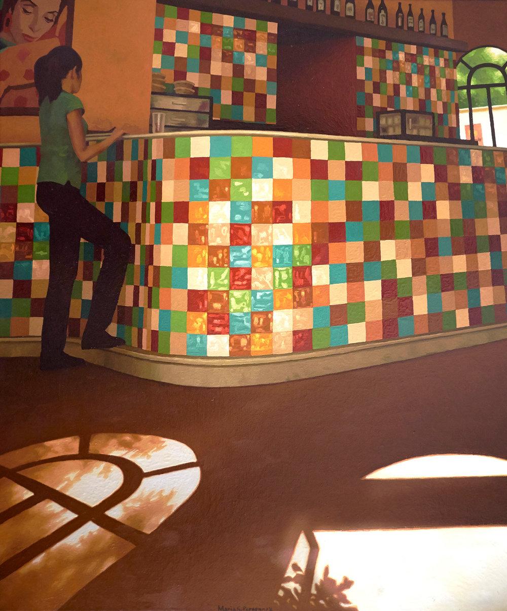 Multicoloured bar