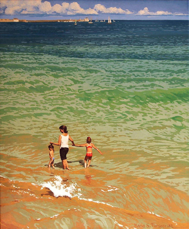 The call of the sea, Basque coast