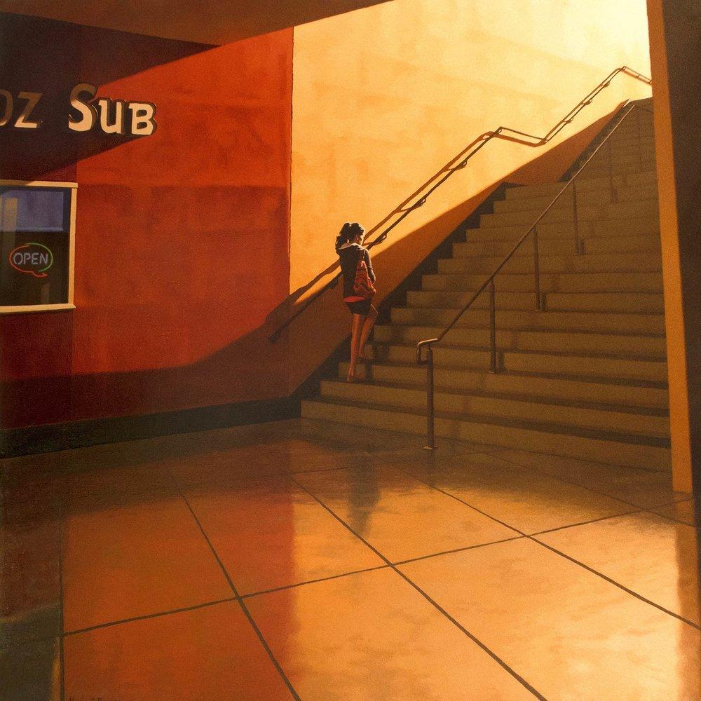 Hall of a subway