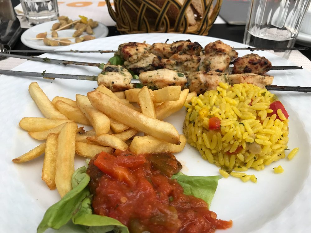 Kabab. Photo Credit: Ammarah Rehman, Spring 2018.