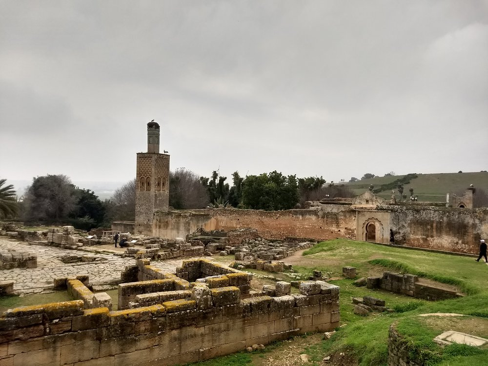 I took this photo of the Chellah, the ruins of an ancient Phoenician and Roman city in Rabat, during orientation week when we visited to learn the history of Morocco. We returned to the site at the end of the semester for a moment of reflection in the beautiful gardens. Photo credit: Silkes, 2018