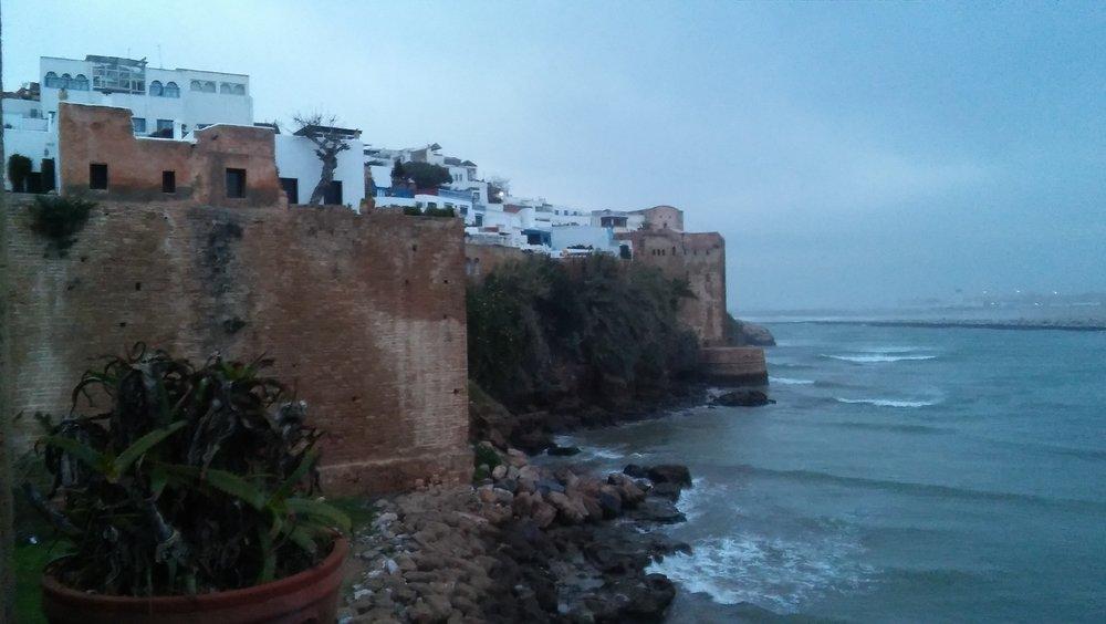 Morocco's coastal cliffs. Photo Credit: Daniel Krewson, Spring 2018